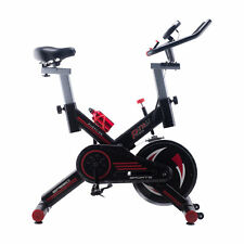 Stationary Exercise Bike Indoor Workout Gym Cycling Fully Adjustable