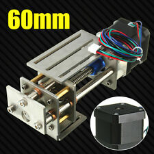 12V Z Axis Slide 3 Axis 60MM DIY Milling Linear Motion CNC Engraving Machine US