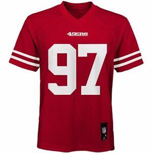 BNWT San Francisco 49ers Nick Bosa Boys Youth Football Jersey (L) Large (14/16)