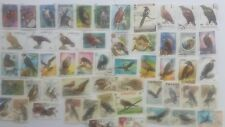50 Different Birds of Prey Stamps