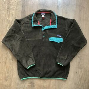 Patagonia Synchilla Fleece Mens Medium - Brown/Green
