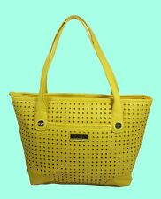 """MARC FISHER """"Perfection"""" Yellow Leather SM Shopper Bag Msrp $68.00"""