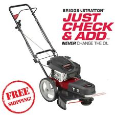"Craftsman 22"" High Wheel 4 Cycle Gas String Trimmer Briggs & Stratton Motor"