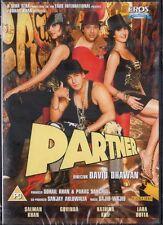 PARTNER - EROS BOLLYWOOD DVD - SALMAN KHAN, GOVINDA, KATRINA KAIF, LARA DUTTA.