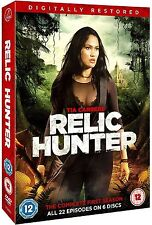 Relic Hunter Complete Series 1 DVD First 1st Season One New Digitally Restored