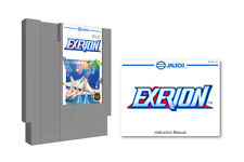 Exerion USA / Exerion 2 (Nintendo NES) & Instruction Manual Booklet Lot Jaleco