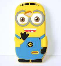 LG Ultimate 2 L41C / Optimus L70 - Soft Rubber Silicone Skin Case Cover Minion