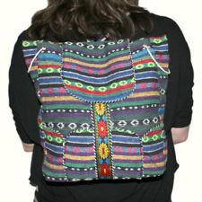Bolsos de mujer mochila color principal multicolor de algodón