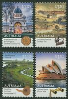 WORLD HERITAGE AUSTRALIA 2020 - MNH SET OF FOUR (BL324)