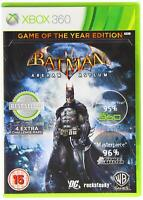 Batman: Arkham Asylum - Game Of The Year (Xbox 360 Game) *VERY GOOD CONDITION*