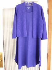 EILEEN FISHER Women's Petite PS 2 4 PP 6 8 Knit Dress PM 10 12 Org Linen Sweater