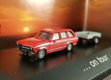 "Herpa Opel Ascona + Anhänger ""on Tour"" 1:87 H0 182317"