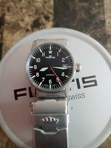 Fortis flieger Pilot watch