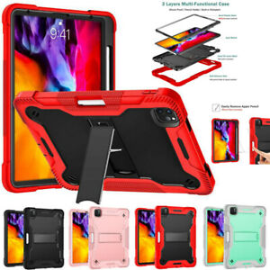 For iPad Pro 11 inch 2021/2020/2018 Shockproof Heavy Duty Tough Stand Case Cover