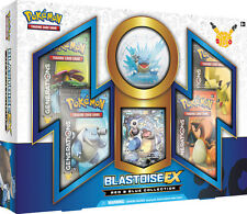 Pokemon Red and Blue Collection BLASTOISE with generations packs pin NO BOX INCL