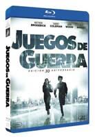 Juegos de Guerra EDICION  30 ANIVERSARIO Blu-ray REGION LIBRE.A-B-C