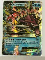 MEGA Gyarados EX Shiny Red ULTRA RARE 27/122 Pokemon XY BreakPoint Holo Rare NM