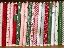 Riley Blake ~ Santa Claus Lane ~ 100% cotton ~ per half yard