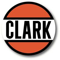 VINTAGE CLARK OIL GAS GASOLINE SUPER HIGH GLOSS OUTDOOR 3.5 INCH DECAL STICKER