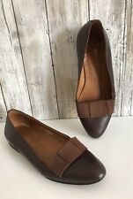 VINTAGE Ralph Lauren Brown Leather Moccasins Flats Italy 5.5 VTG RARE!