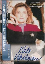 STAR TREK VOYAGER CLOSER TO HOME A1 KATE MULGREW CAPTAIN JANEWAY AUTOGRAPH