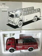 1953 camion truck Whyte 3000 with stake body  1997 FIRST GEAR 1/34 SCALE DIECAST