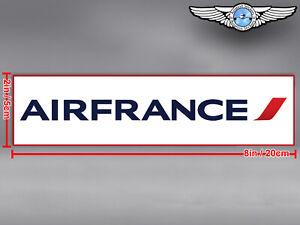 AIR FRANCE RECTANGULAR LOGO DECAL / STICKER