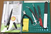 MYGJ04CM  Gundam Modeler Basic Tools Craft Set For Car Model Kit Building NEW
