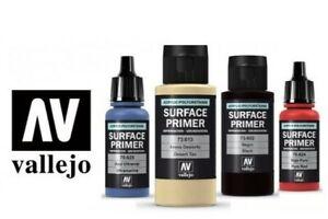 Vallejo Surface Primer Acrylic Model Air Brush Spray - 17ml Full Range Available