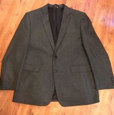 Mens Dark Gret Two Peice Suit From Burtons Bnwot Chest  46r Leg  36L