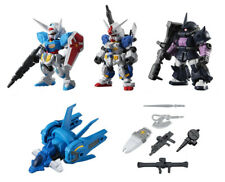 Bandai Mobile Suit Gundam Ensemble 12 Gashapon Figure G-Self Zaku II set 5 pcs