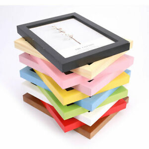 Simple Wooden Frame Picture Photo Frames For Wall Picture Frames Home De Xj