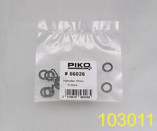 Piko 56026 Haftreifen, traction tire, 10 x 6,4 mm  (10 Stück piece)