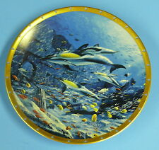 Lenox Collector Plate> Bottlenose Dolphins by Jarret Holderby a
