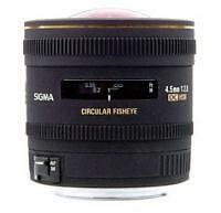 Sigma EX 4.5mm F/2.8 HSM DC Lens For Pentax