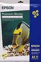 Epson A4 Premium Glossy Photo Paper (15 Sheets)