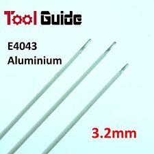 3 Rods Aluminium E4043 ARC Welding Electrodes DC 3.2mm Rod Stick Sticks