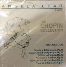 NEW - The Chopin Collection Volume Four Angela Lear Piano