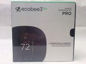 Ecobee3 Lite Pro (EB-STATE3LTP-02) Smart Thermostat - Pro Model - NEW SEALED