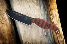 TOPS Knives Viper Scout Survival Knife Red/Black G10 Handle VPS-R2 New