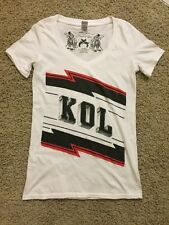 New Kings Of Leon Kol Cotton Barking Irons Limited Edition Shirt Large V Neck