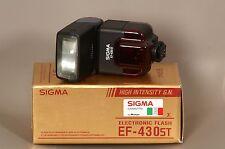 SIGMA EF-430 ST FLASH PER NIKON AF