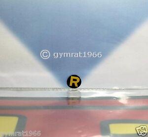 "Reproduction Mego 8"" Action Figure parts- Robin pre-cut glossy sticker, emblem"