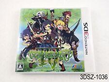 Sekaiju no Meikyuu Etrian Odyssey IV 4 Nintendo 3DS Japanese Import US Seller A