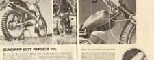 1967 Zundapp ISDT Replica 125 Motorcycle Trail Road Test 4-Page Article