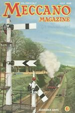1949 JULY 33600 Meccano Magazine Cover Picture  GUADIAN ARMS