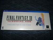 New * Final Fantasy XII 12 The Zodiac Age Collector's Edition  PlayStation 4 ps4