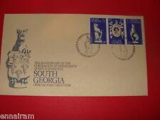 Queen Elizabeth II Silver Jubilee FDC 25 Coronation South Georgia 1978 #1
