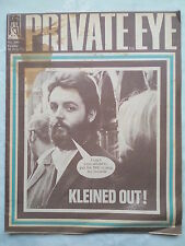PRIVATE EYE,PAUL MCCARTNEY CLEANED OUT.NO 240.26 FEB 1971,CLAUD COCKBURN,SEXPLOT
