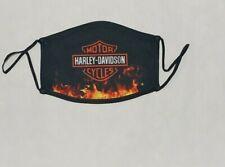 Harley Davidson Logo Face Mask  - Adult Size